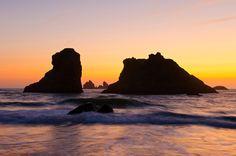 Sunset... Bandon, Oregon — Bill Ratcliffe