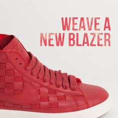The Nike Blazer has had a makeover.    Thoughts?    #nike #blazer #shoes