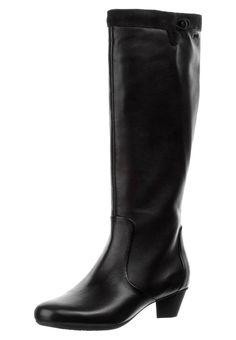 Sensunique overknee laarzen K566 taupe
