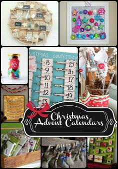15 DIY Advent Calendars - The Girl Creative