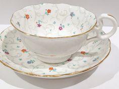 Radford Tea Cup and Saucer Antique Tea Cups by AprilsLuxuries