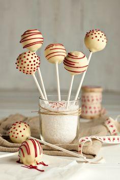 #Cakepops de limón y chocolate  #reposteríanavideña #DulceNavidad #Limón #Chocolate #Navidad
