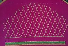 Aari Work Blouse, Hand Designs