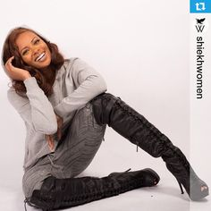 Eva Marcille For Shiekh Shoes Shiekh Wissper boots use promo Eva to get your pair 10% off