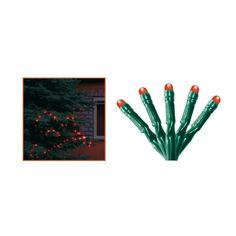 Instalatie Craciun pentru exterior cu LED-uri, 100 LED-uri, roşie, KKL 108/RD Led