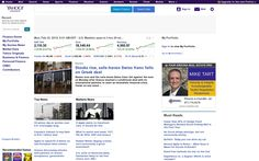 Our ad on Yahoo Finance!