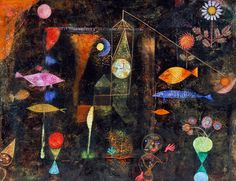 Paul Klee, Fish-Magic, 1925 on ArtStack #paul-klee #art