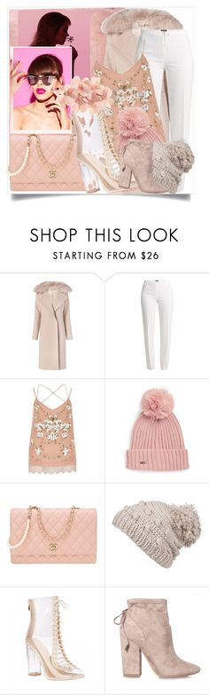 """pompom beanies day💞💞"" by nalvatore ❤ liked on Polyvore featuring Rothko, Diane Von Furstenberg, Basler, River Island, Calvin Klein, Chanel, prAna, Kendall + Kylie and Tasha"