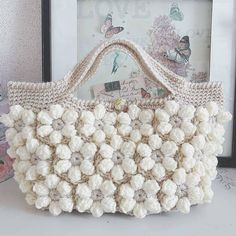 Free Crochet Bag Patterns 2016 Archives - Beautiful Crochet Patterns and Knitting Patterns Free Crochet Bag, Crochet Shell Stitch, Love Crochet, Beautiful Crochet, Diy Crochet, Crochet Flowers, Crochet Stitches, Crotchet Bags, Knitted Bags