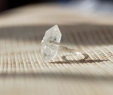 natural  crystal ring crystal quartz ring natural  stone jewelry personalized ring  wholesale by Flowercrystal on Etsy https://www.etsy.com/listing/173403472/natural-crystal-ring-crystal-quartz-ring