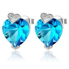Virgin Shine Platinum Plated Blue Rhinestone Hearts Earrings VIRGIN SHINE http://www.amazon.com/dp/B00IY9F6RG/ref=cm_sw_r_pi_dp_a2nzub1NZJVCQ