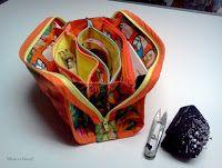 Jianel ... maison de couture: Tutorial progressif: Le sac à pochettes - 3e étape