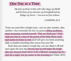#Scripture #2Samuel22Verse3 #Psalm30Verse5 #BeBlessed