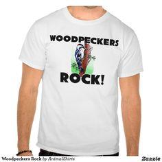Woodpeckers Rock Tee Shirt