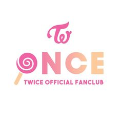 Twice Pics retweeted:       TWICE OFFICIAL FANCLUB ONCE OFFICIAL LOGO  #ONCE #원스 #TWICE #트와이스