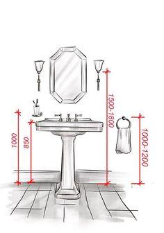 Happynest.vn   Mách bạn các kích thước tiêu chẩn trong phòng tắm