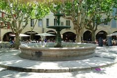 Back to the beginning — my first stay in Uzes.
