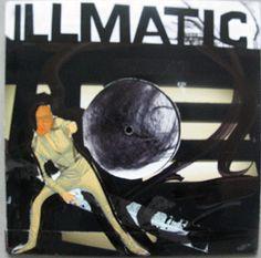 Illmatic: Sound as a weapon, cover by Erik van Lieshout Rap Albums, Famous Art, Art Of Living, Weapon, Vinyl Records, Sketching, Walls, Van, Apple