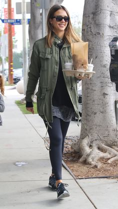 Jessica Alba Out in West Hollywood, 01/23/16