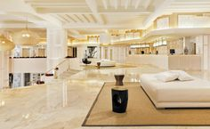 Hotel's lobby and reception #hotel #lobby