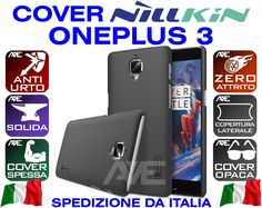 COVER CASE ONEPLUS 3 THREE A3000 NILLKIN FROSTED FUNDA COQUE HARD SPESSA BUMPER