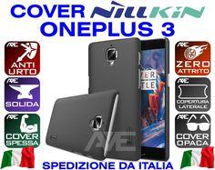 COVER CASE ONEPLUS 3 THREE A3000 NILLKIN FROSTED FUNDA COQUE HARD SPESSA BUMPER