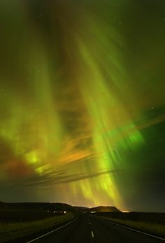 Aurora Borealis lights Af friend mentioned going to see this a decade agp. Very sad the trip never came to pass. I guess if I want to see something I'll have to do it on my own.....