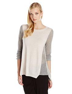 Rebecca Taylor Women's Textured Color Block Pullover Sweater, Smoke Combo, X-Small Rebecca Taylor http://www.amazon.com/dp/B00LIUYP34/ref=cm_sw_r_pi_dp_-M7oub1VRM8CS