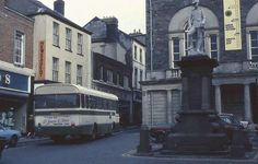 Guildhall Square, Carmarthen, 1977