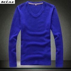 2016 New Fashion Slim Fit Sweater Men Classic Pure Black Pullover Men Solid Color V-Neck Pull  Cashmere Wool Sweaters Shirt