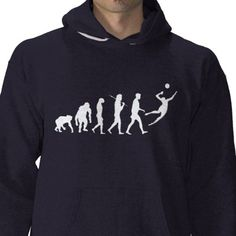 Men`s Volleyball hooded sweatshirt for players from http://www.zazzle.com/volleyball+coach+hoodies