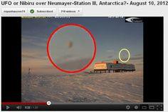 Aparição de UFO na Webcam da Estação Neumayer cria nova Teoria da Conspiração