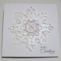 Sasha's Inspirations: Let It Snow!! - Two Cards for St Lukes Charity Challenge