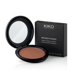 KIKO MAKE UP MILANO: Bronzer Powder – Kompakter Bronzer mit mikronisierter Mineralformel.  #105 Warm Almond