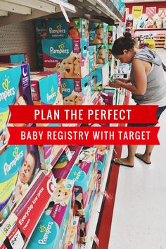 Plan the Perfect Baby Registry with Target #sponsored