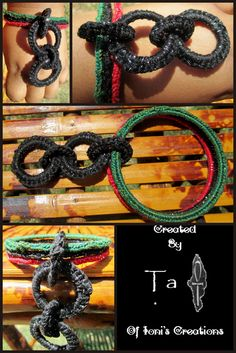 https://www.etsy.com/listing/104092006/red-black-and-green-3-bangle-set-with-4