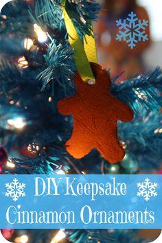DIY Keepsake Cinnamon Ornaments #McCormickBaking #Sponsored  