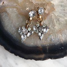 Chandelier drop earrings Brand new retail item. Not j crew J. Crew Jewelry Earrings
