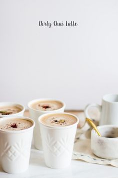 How To Make A Dirty Chai Latte -Making these on Christmas Day!! My love loves these ;)