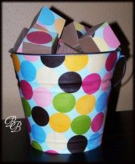 bucket of blocks
