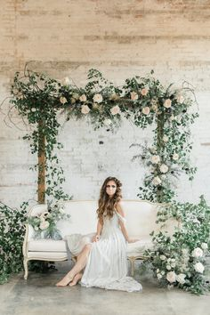 Diy Wedding Backdrop Ceremony Altars Receptions 52 Ideas - Sites new Wedding Backdrop Design, Wedding Stage Decorations, Floral Wedding, Wedding Colors, Wedding Flowers, Wedding Arch Greenery, Bridal Session, Bridal Shoot, Halloween Bride
