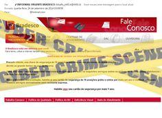 Muralha Informática: INFOEMAIL URGENTE BRADESCO - E-mail fraudulento nã...