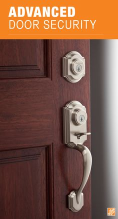 This satin nickel deadbolt handleset features smart and secure capabilities, including SmartKey® Re-Key Technology and BumpGuard™ protection against lock picking and lock bumping. See the Montara handleset from Kwikset at The Home Depot.