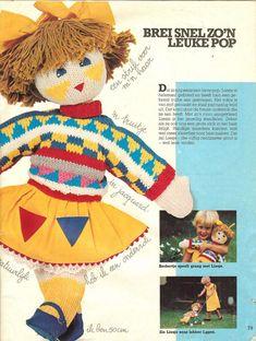 Pop Liesje - free pattern in Dutch