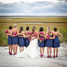 Cute pic with Brides maids