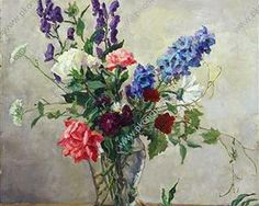 Still Life. A small bouquet. - Pyotr Konchalovsky