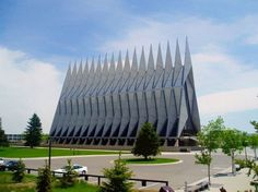 Capela dos Cadetes da Academia da Força Aérea – Colorado, EUA