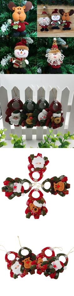 Christmas Gift Ideas 3Pcs Pack Christmas Wine Bottle Cover Gift - wholesale christmas decor