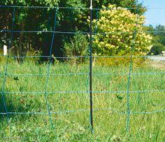 Wolfabwehrnetz, Set. weiß/blau 1,08/50 m