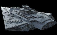 ArtStation - Bellator-class Star Dreadnought, Ansel Hsiao